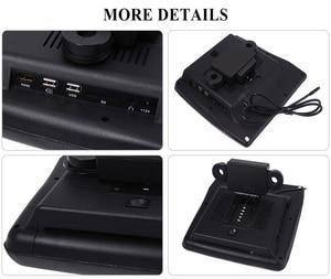 Image 3 - XST 2PCS 9 นิ้ว Car Headrest Monitor MP5 เครื่องเล่น DVD USB/SD/หน้าจอ LCD ด้านหลังเครื่องส่งสัญญาณ IR/FM รีโมทคอนโทรล