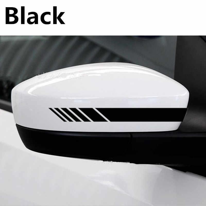 Newbeeペア車のステッカー自動グラフィック反射クルーザーチョッパースポーツミラーデカールストリップビニールベンツamg glk vwホンダトヨタbmw