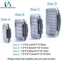 Maximumcatch Fly Box Waterproof Slit Foam High Density 4 size Fly Fishing Tackle Box