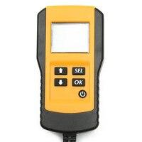 Горячая 12 В Автомобиль Батарейный Тестер Автоматический Анализатор Цифровой Автомобильный Аккумулятор Анализатор Для SAE IEC DIN EN