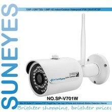SunEyes SP-V701W 720 P HD Mini Ip-камера Внешняя Беспроводная Водонепроницаемый ONVIF RTSP Поддержка ИК Ночного Видения Бесплатный P2P