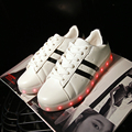 2017 New Arrival Led Sapato Homens & par Sapatos Com a Qualidade da Luz brilham Usb Night Club Estilo Zapatos Tenis de Simulação Levou Hombre