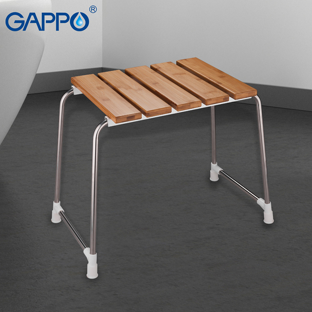 folding chair for bathroom foam beds gappo wall mounted shower seats seat bench toilet bath stool