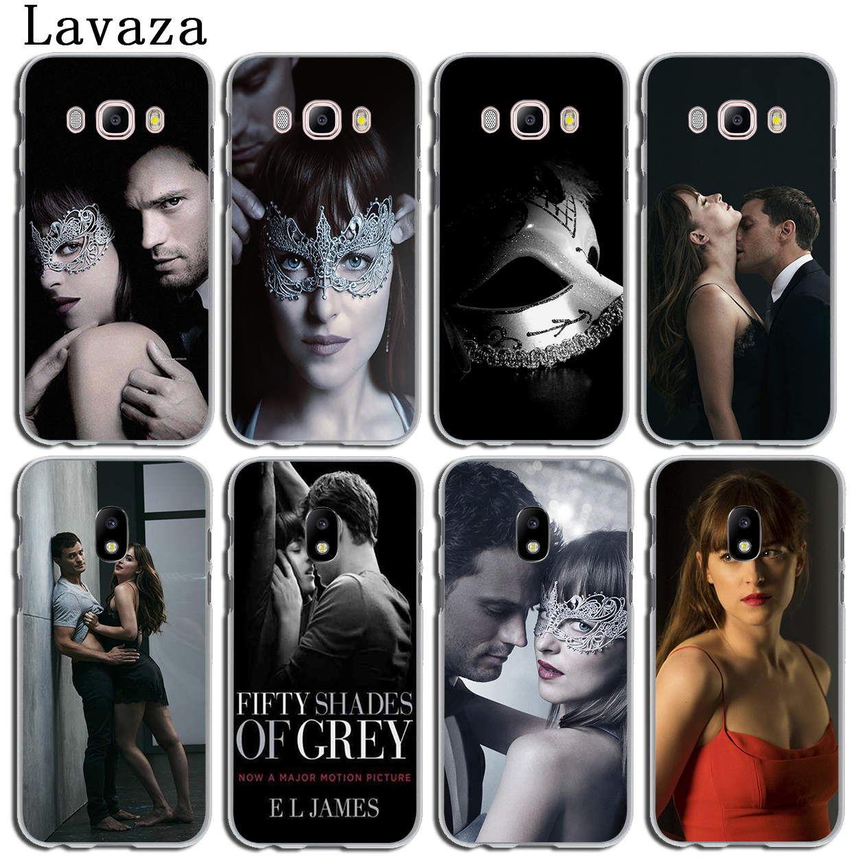 Lavaza Fifty Shades Darker of grey freed Phone Case for Samsung Galaxy J3 J1 J2 J7 J5 2015 2016 2017 J2 Pro Ace J5 J7 Prime Case ...