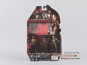 "Image 3 - ขายร้อนNECA Predator Movie Series 1ตัวอักษรPredator Action Figureของเล่นPVC 8 ""ขายปลีกจัดส่งฟรี"