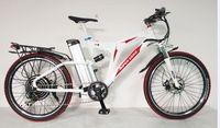 RisunMotor Free Shipping White Bike Frame 48V 1000W Super X8 Ebike+48V 20Ah SAMS Seat Tube Lithium Ion Battery Electric Bicycle
