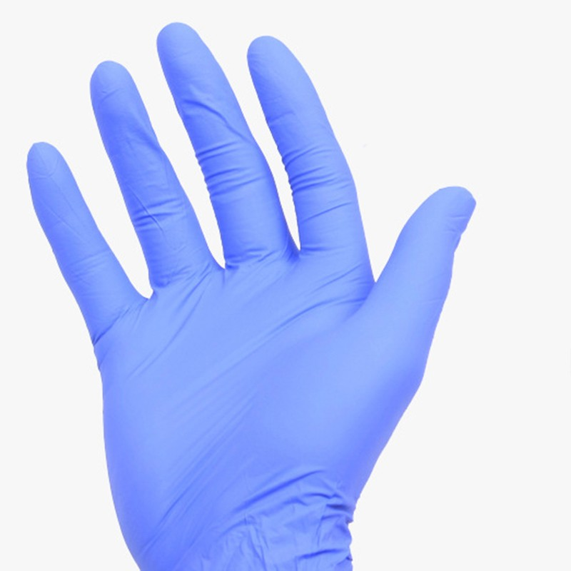 (XL) 50Pairs Sterilized Latex Rubber Nitrile Purple Blue Disposable Tattoo Gloves New Tattoo Accessories accessoire de tatoo 14