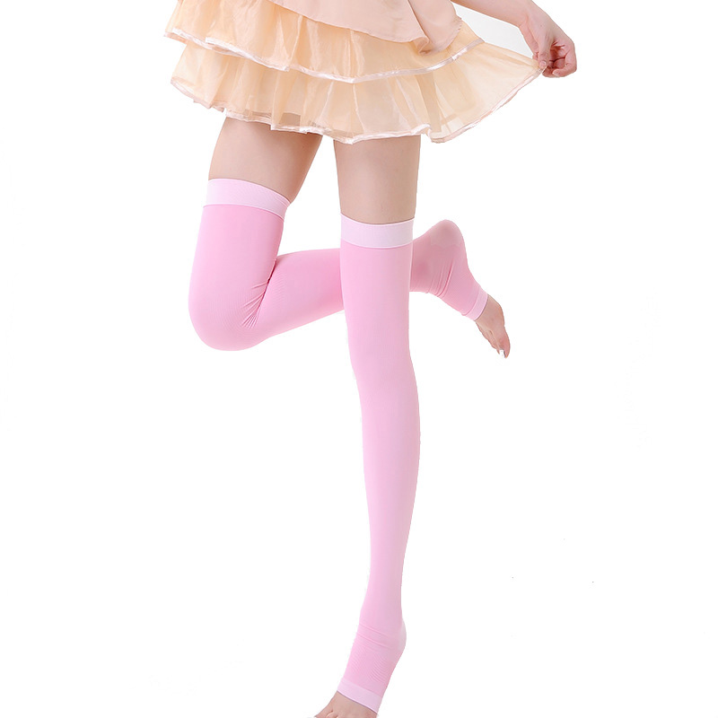bfe545db75c Detail Feedback Questions about Young Girl Elastic Compression Stockings  Women Beauty Sleep Slim Leg Stockings Pressure Burn Fat Stockings on  Aliexpress.com ...
