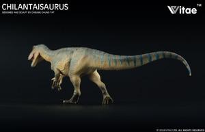 Image 3 - 2018 Vitae Jurassicไดโนเสาร์สัตว์Chilantaisaurus Tashuikouensis Ankylosaurus 1:35 Endemicจีน