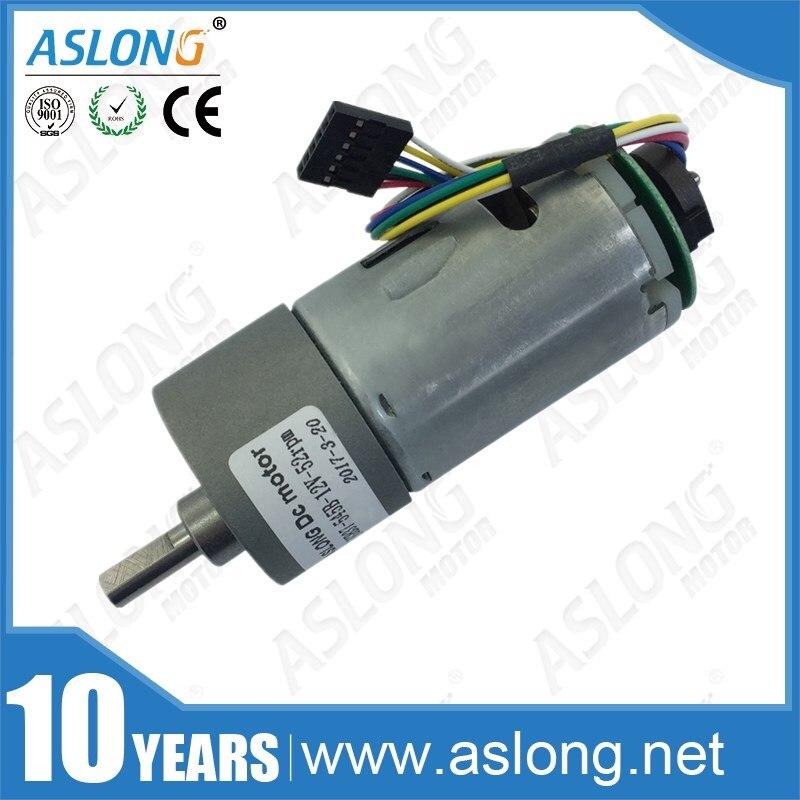 Aslong alta qualidade jgb37-545b 12 v broca elétrica dc motor para robô