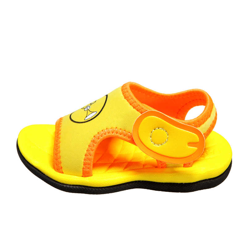 2019 New children's sandals boys and girls beach slippers children cute cartoon casual shoes summer non-slip shoes size21-30