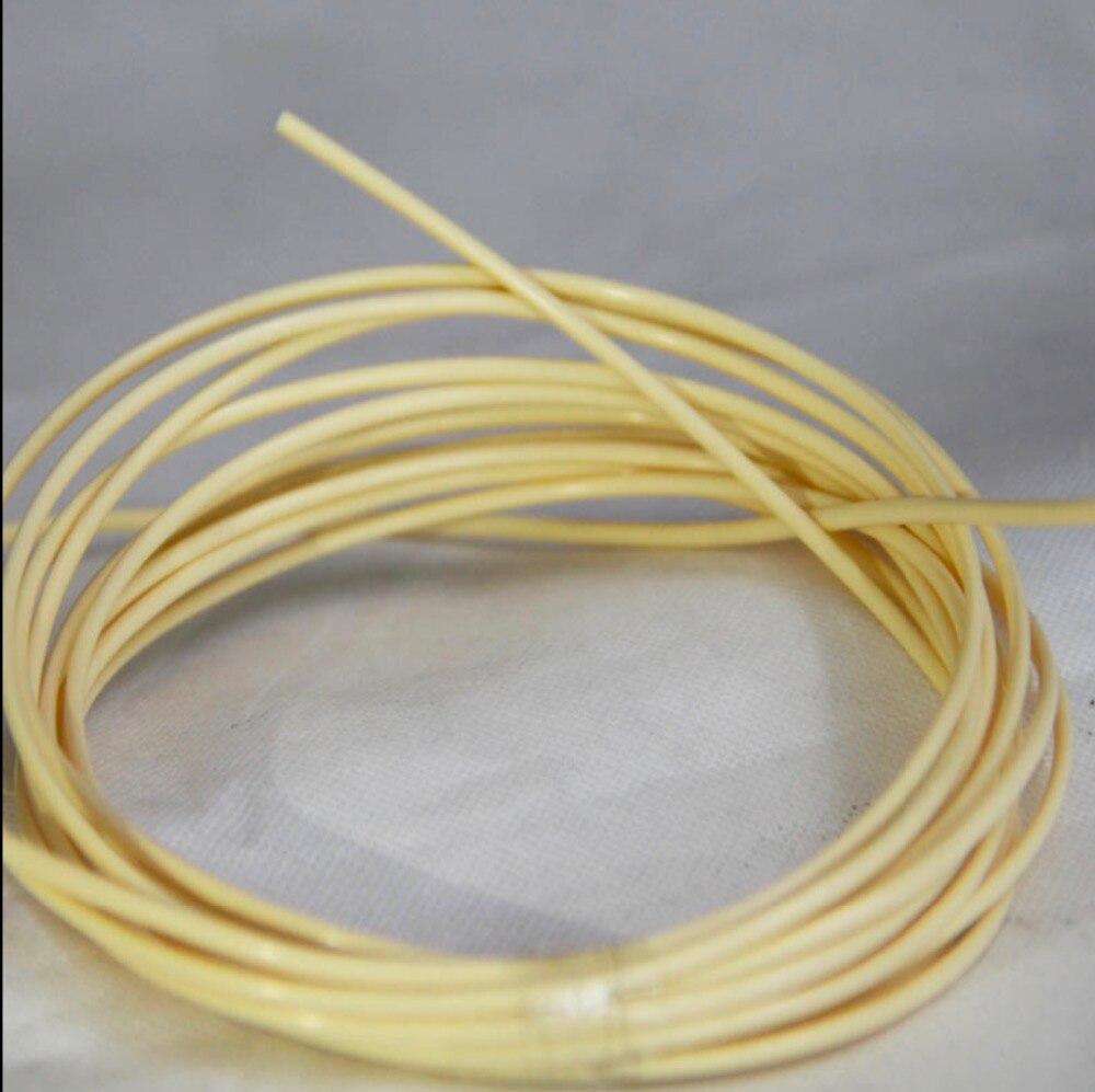 70Meters(500g) Diameter:2.5mm Round Light Yellow Synthetic Rattan Weaving Material Plastic Knit Repair Chair Table PE Rattan