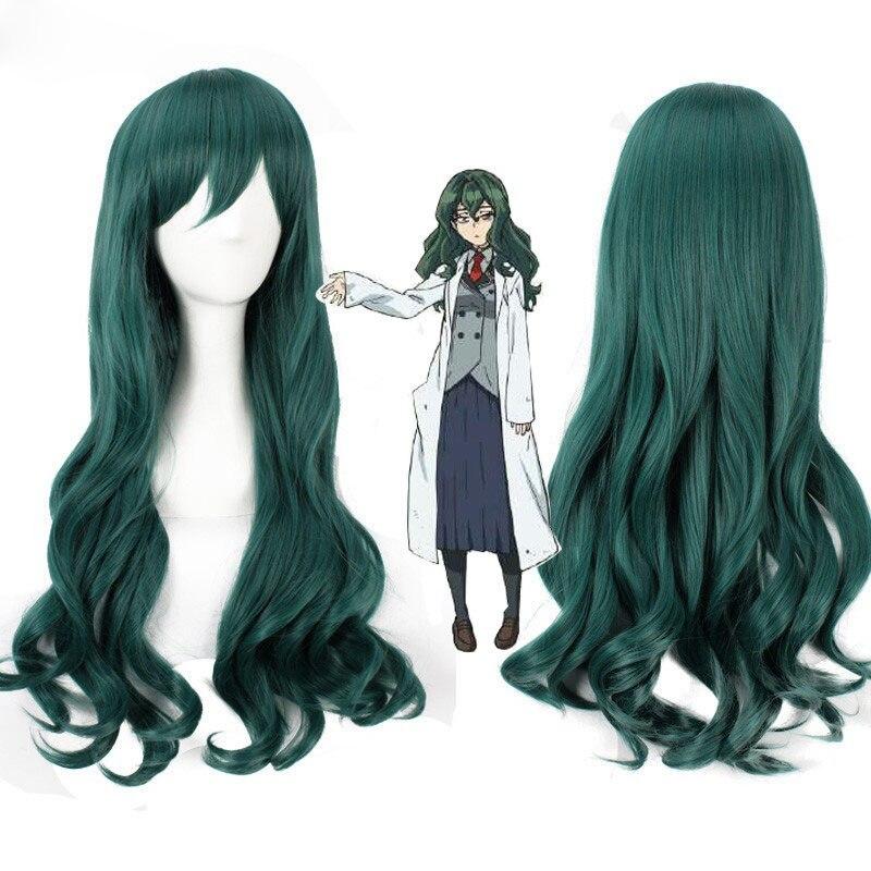Shimoneta To Iu Gainen Ga Sonzai Shinai Taikutsu Na Sekai Fuwa Hyouka Long Wavy Synthetic Anime Cosplay Wigs + Wig Cap