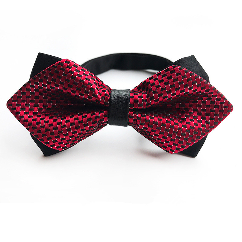 Apprehensive 20 Colors Solid Red Black Fashion Bowties Groom Men Colourful Plaid Cravat Gravata Male Marriage Butterfly Wedding Bow Ties High Quality Materials Boy's Tie