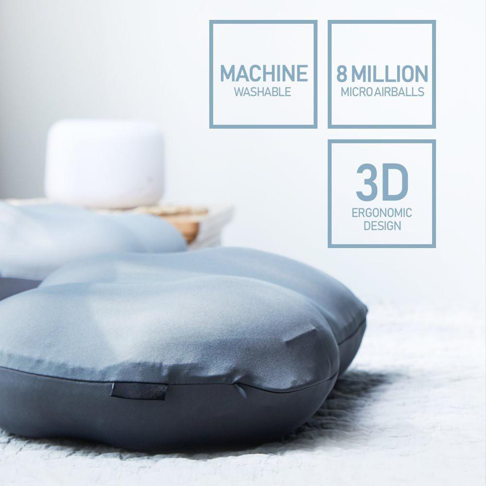 Creative Deep Sleep Addiction 3D Neck Pillow Washable Polyester Pillowcase Cover Travel Pillows Neck(China)