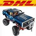2017 New LEPIN 20011 1605Pcs Technic SUV 4x4 Crawler Exclusive Edition Model Building Kits Blocks Bricks Children Toy Gift 41999