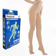 Findcool 医療圧縮ストッキング静脈瘤ストッキング 20 30 mmHg 圧縮サポートストッキングプラスサイズ Thights