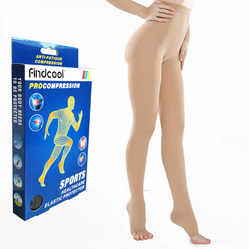 Findcool Medical Compression Pantyhose for Varicose veins Stockings 20 30 mmHg Compression Support pantyhose Plus Size Thights|Tights|   - AliExpress