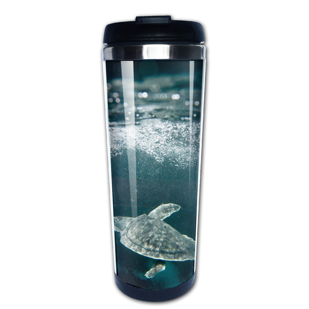 SeaTurtles coffee mug gift dad tazas stainless steel tumbler caneca tea Cups