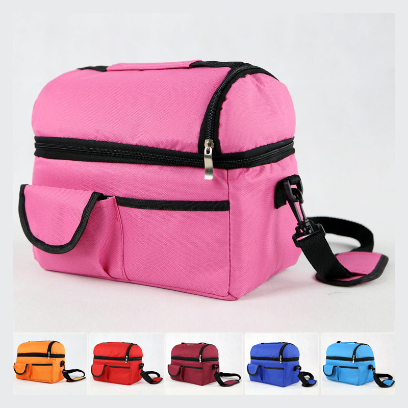 Food Storage Oxford Bag Travel Organizer Sports Tote Leisure Picnic Outdoor Storage Bag Cooler Ice Camping Pack