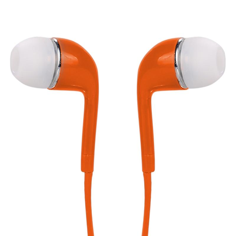 Uus värviline 3,5 mm stereo kõrvaklappide peakomplekt Earbud - Kaasaskantav audio ja video - Foto 5