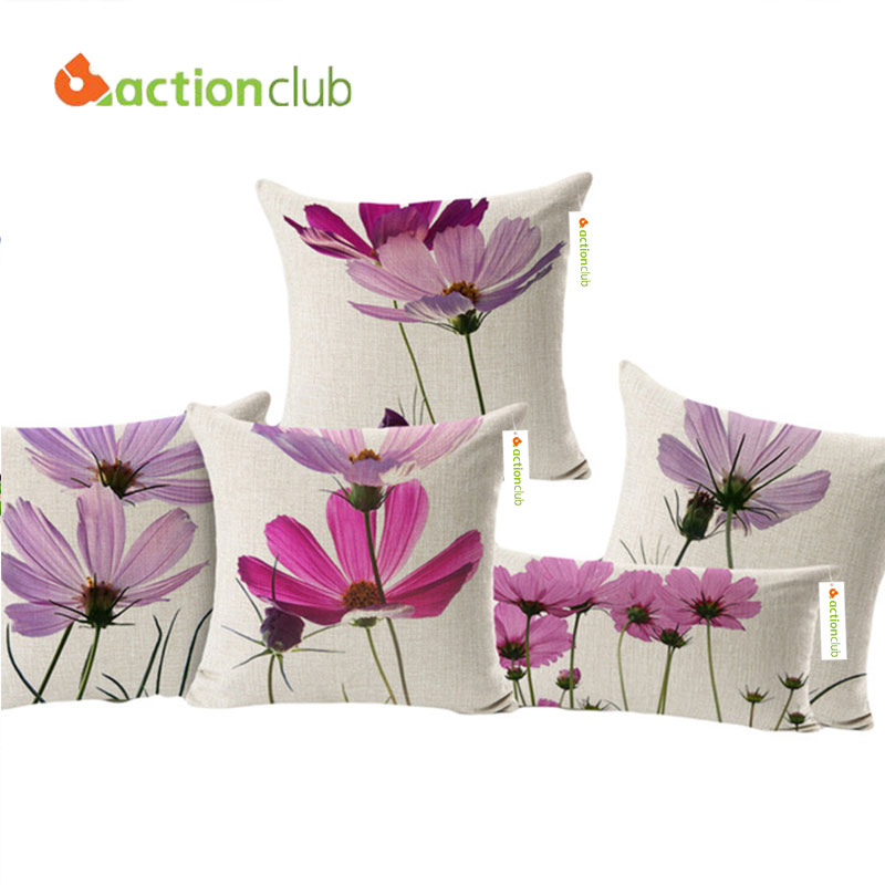 Actionclub Purple Flowers...