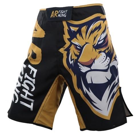 Shorts de Treino Design Tigre Roupas Gaiola Luta Grappling Shorts Muay Thai Kickboxing Artes Marciais Boxe New Mma