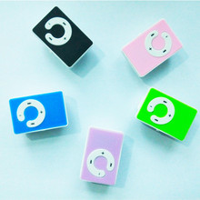 MambaMan Wholesale Quality Clip O Button Mini MP3 Music Player with TF Card Slot for leisure no accessories