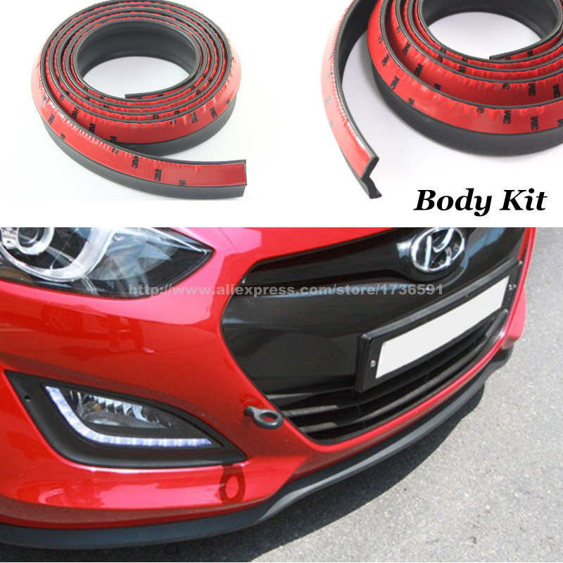 For Hyundai Creta i40 i45 Moinca Solaris Sonata Car Body Front Side Back Bumper Spoilers Lip Body Chassis Side Protection бра mw light фелиция 347020801