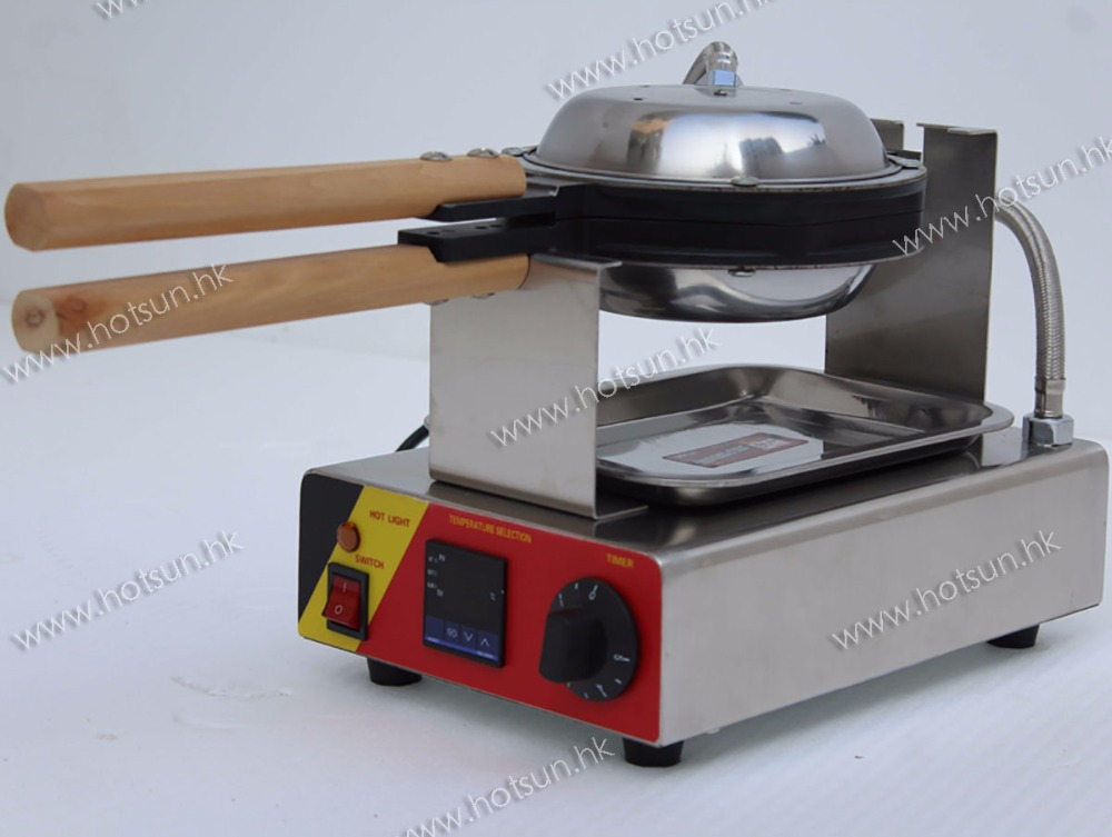 Free Shipping Commercial Digital Electric Eggettes Egg Bubble Waffle Baker Iron Maker Machine 1pc egg puff machine hk style egg waffle maker egg waffle iron bubble waffle wafer machine electric eggettes egg waffle maker