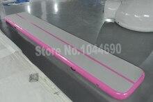 Горячее надувательство 6*2 м розовый и белый надувной воздушный трек акробатика для спорта