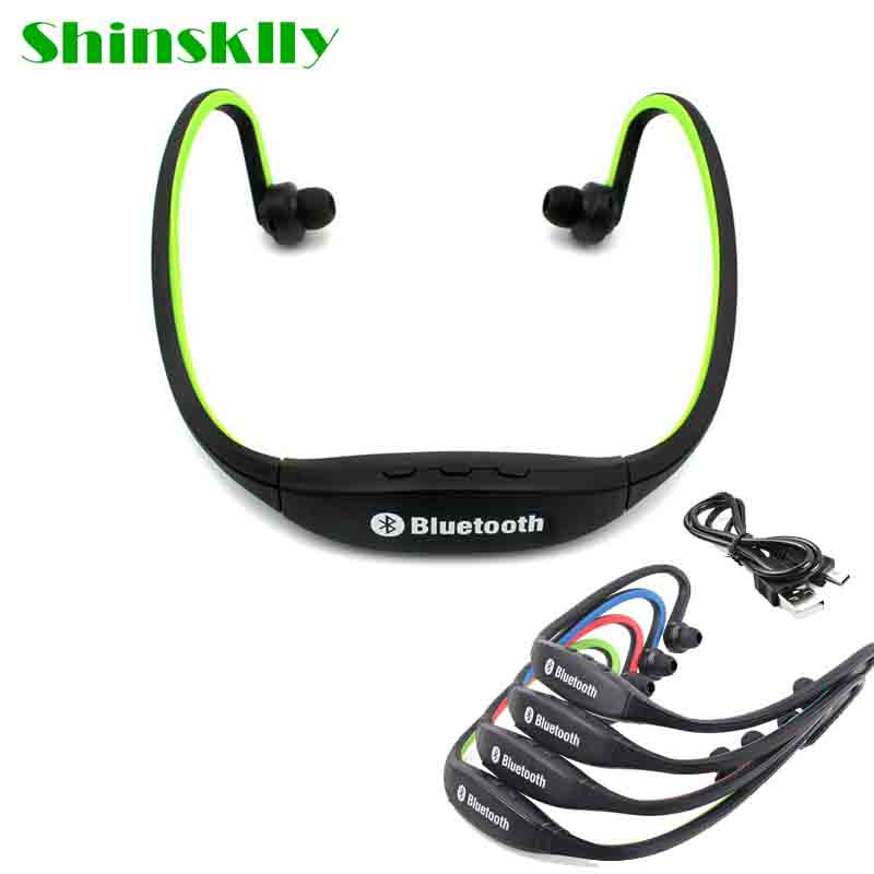Colorful S9 Wireless Bluetooth Stereo Earphone Sport Headset Noise Cancelling Earphone With Microphone For iPhone Xiaomi huawei mpow bluetooth stereo headphones wireless wired noise cancelling headset with microphone for iphone 8 7 6s xiaomi samsung huawei