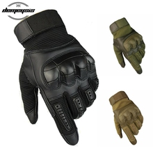 Touch Screen Tactical Gloves Military Army Paintball Shooting Airsoft Combat Hard Knuckle Full Finger