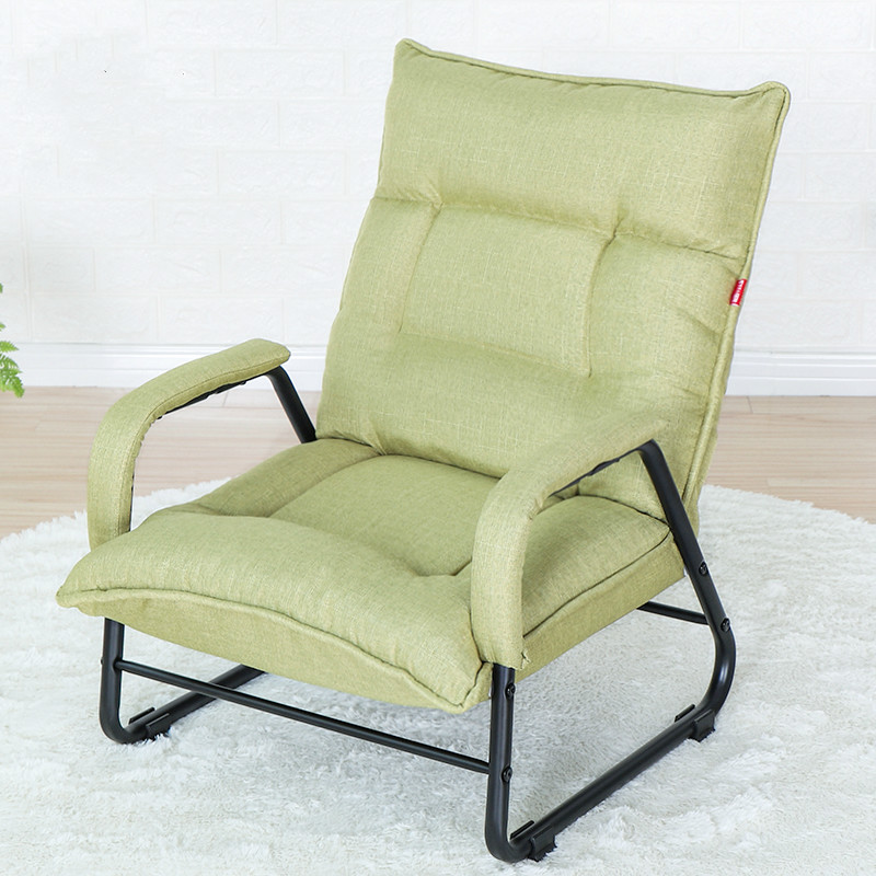 US $175.73 17% OFF|Lazy living room sofa chair computer chair feeding  breastfeeding chair Japanese folding chair single bedroom small sofa-in  Living ...