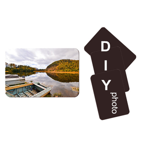 Image 1 - 10pcs Soft Fridge Magnets DIY personalized photo picture printed Stickers on the Fridge Refrigerator Magnets Lot
