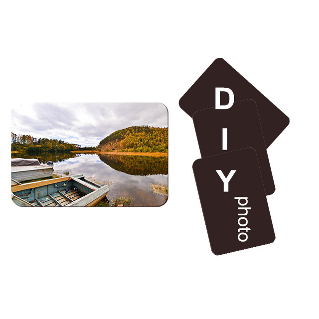 10pcs Soft Fridge Magnets DIY personalized photo picture printed Stickers on the Fridge Refrigerator Magnets Lot