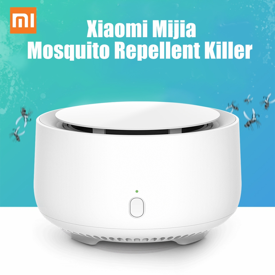 Original Xiaomi Mosquito Repellent Killer Dispeller No Heating Fan Volatilization Insect Repeller Indoor Replaceable Repellents