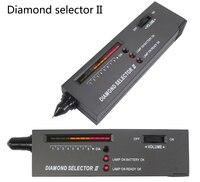 10 pcs/lotV2 Professional High Accuracy Diamond Tester Gemstone Gem Selector Jewelry Watcher Tool LED Diamond Indicator Test Pen