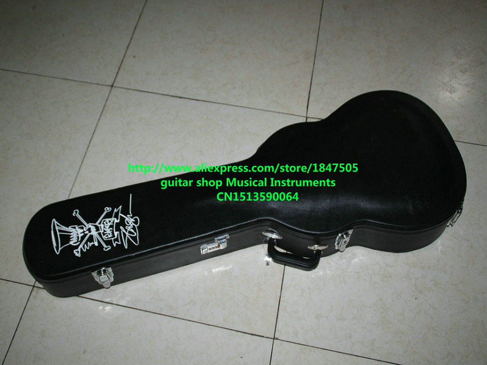 цена на Electric Guitar Black Hard case Not sold separately !!! Free shipping