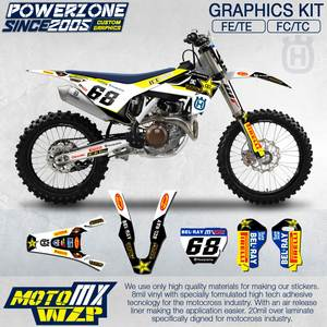 Decals 3 M For Husqvarna 2015 Custom Stickers Kit Customized Team Graphics Backgrounds