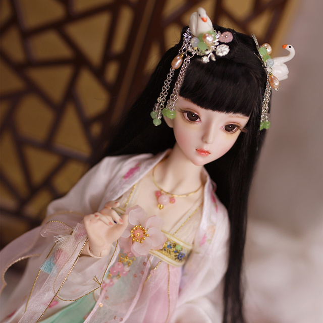 1/3 BJD Joint Body Gu-Yu with makeup include outfit shoes hair and Gift box gift toys high quality ICY,SD