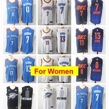 535cc1d58 Oklahoma City Russell Westbrook Paul George basketball jerseys for  women(China)
