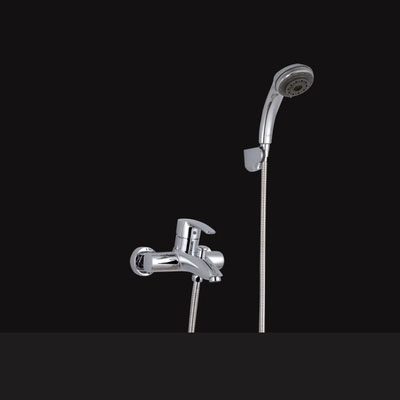 Wholesale And Retail Deck Mount Chrome Waterfall Bathroom Faucet Vanity Vessel Sinks Mixer Tap Hot and Cold Basin Water Tap