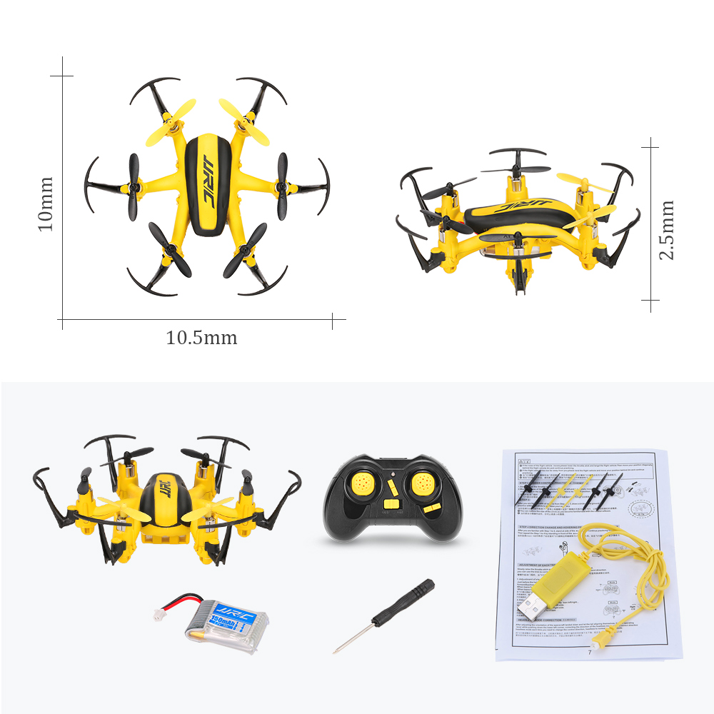 JJR/C JJRC H20H 2.4G <font><b>4</b></font> Channel 6-Axis Gyro RC Hexacopter RTF Drone with CF Mode/One Key Return/3D Flip/Altitude Hold VS JJRC H20 image