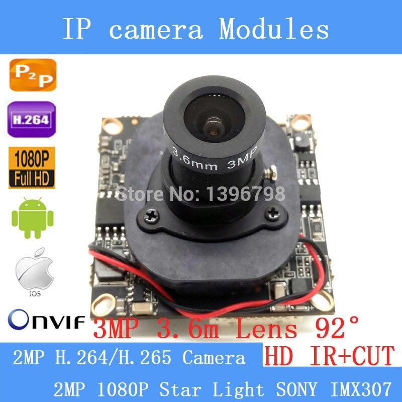 1 / 2.8 Full HD H.264/H.265 IP Camera Module Board ONVIF P2P 1080P 2MP IP Camera 3MP 3.6MM 92 degree lens CCTV security camera1 / 2.8 Full HD H.264/H.265 IP Camera Module Board ONVIF P2P 1080P 2MP IP Camera 3MP 3.6MM 92 degree lens CCTV security camera