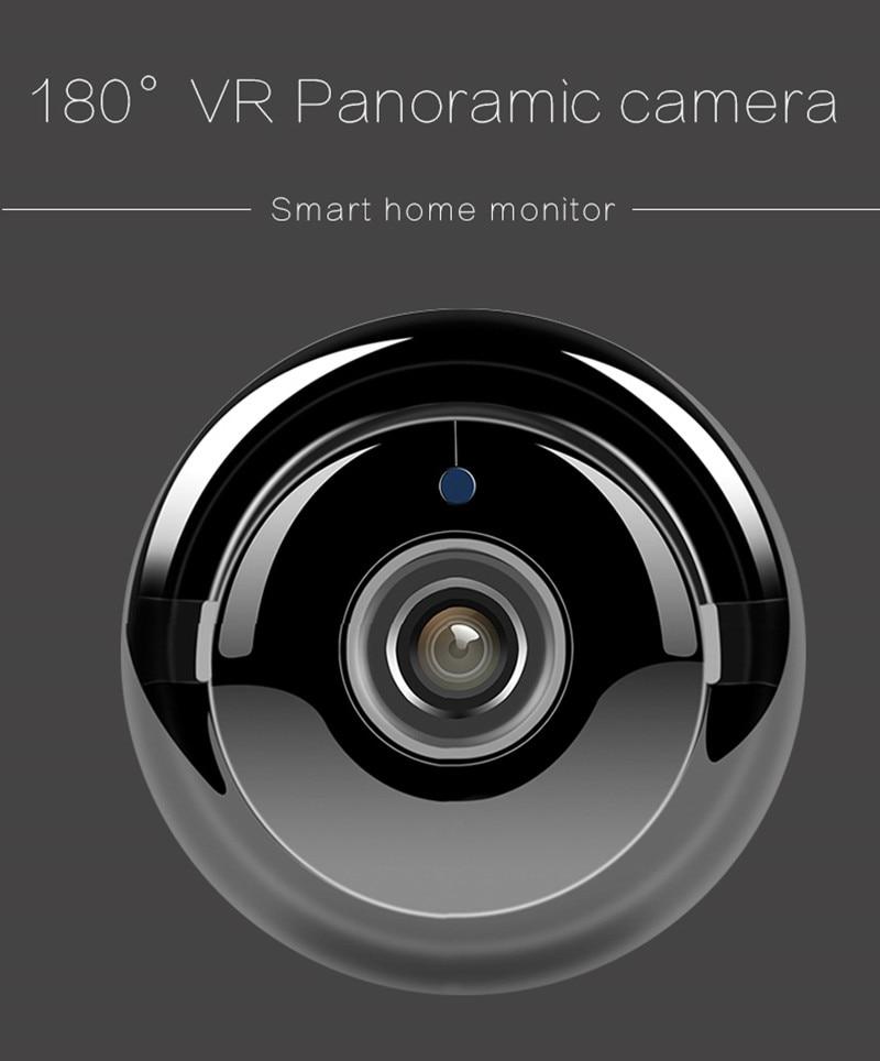 180 derece VR Panoromik Wifi Kamera, Akıllı Ev İzleme!