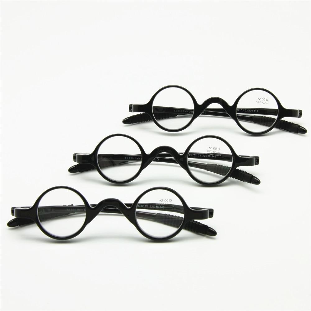 8e27ad560b19 3 Pairs Pack Classic Retro Round Frame Reading Glasses