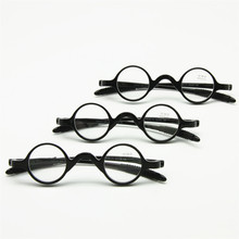 3 Pairs Pack Classic Retro Round Frame Reading Glasses, Teacher Musician Flexible Pocket Reader +1.0 to +3.5 come with soft case