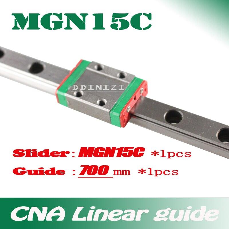15mm Lineare Mgn15 700mm lineare modo ferroviario MGN15C lunga trasporto lineare per CNC Xyz Axis Spedizione libero15mm Lineare Mgn15 700mm lineare modo ferroviario MGN15C lunga trasporto lineare per CNC Xyz Axis Spedizione libero