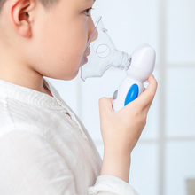 Handheld Nebulizer for Kid Child Home Air Angel Nebulizer Portable Mesh Steam Inhaler Atomizer Medical Household Vaporizer